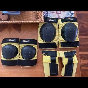 Indoor sports protective gear